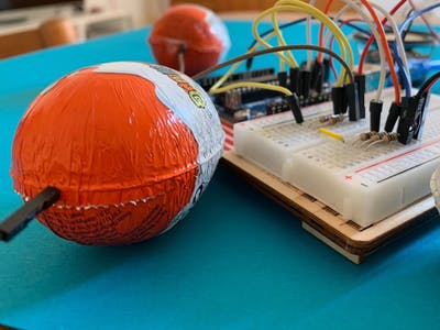 Arduino Organ with Kinder Surprise