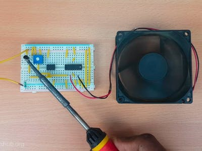 Temperature Controlled System with L293D