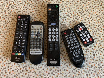 Repurpose Old Remote Controls