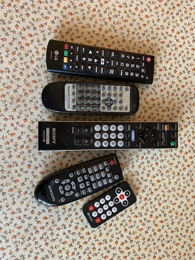 It's been tested with these 5 remotes