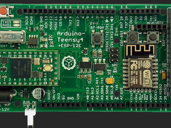 Expansion Board Turns the Teensy 4.0 Into a 2.4 GHz Wireless Powerhouse