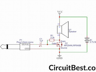 Simple Basic audio Amplifier