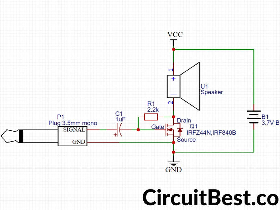 Simple Basic audio Amplifier