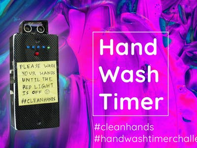 Fight Coronavirus: Simple Handwash Timer
