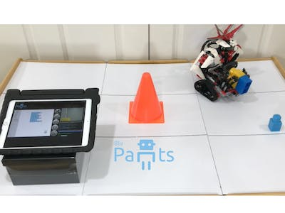 Coding with Lego EV3 and BluPants