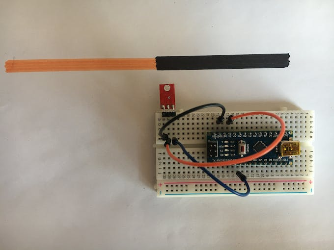 simple circuit GND/5V/D3