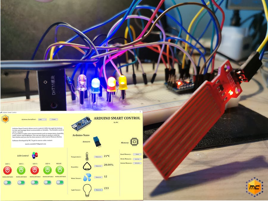 Arduino Smart Control - Smart Automation