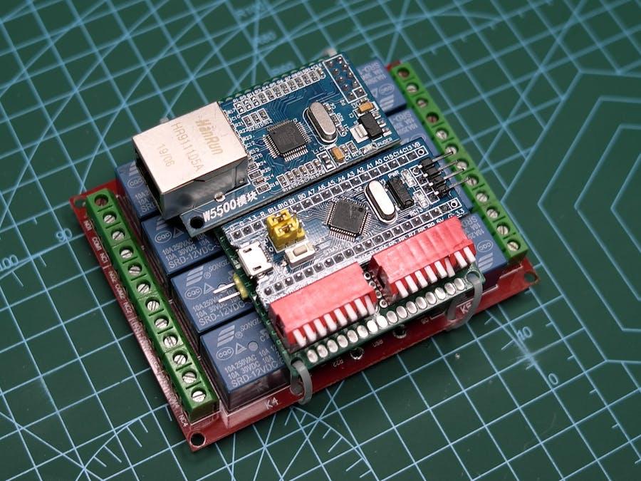MQTT-Driven IP-Relay Module