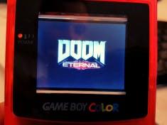 Doom Eternal on GameboyColor