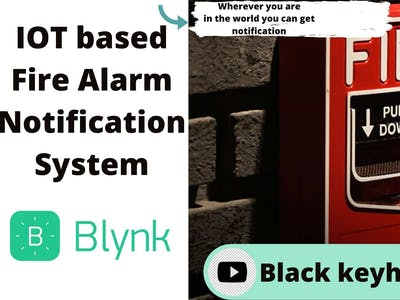 Iot based fire alarm system