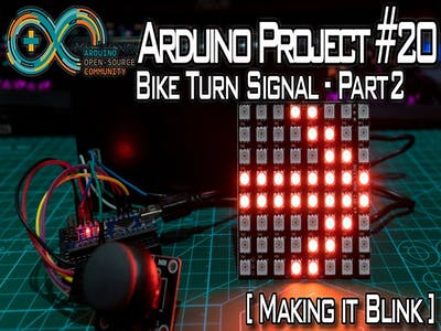 Bike Turn Signal - Part 2
