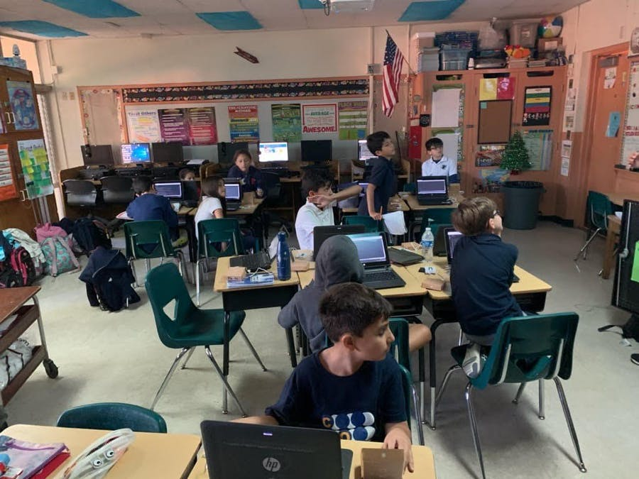 Particle Photon Workshop at Coral Park Elementary