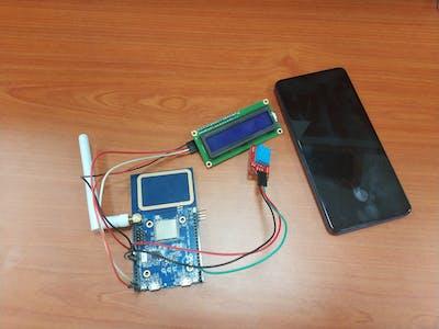 Weather Station IoT system - Realtek Ameba RTL8195
