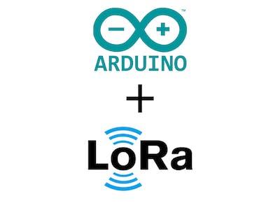 Arduino Uno + LoRa RA-02 Temperature Sensor