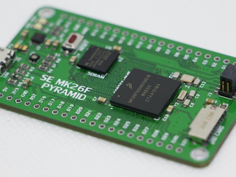 SE PYRAMIDS Cortex M4F with SDRAM Dev Board
