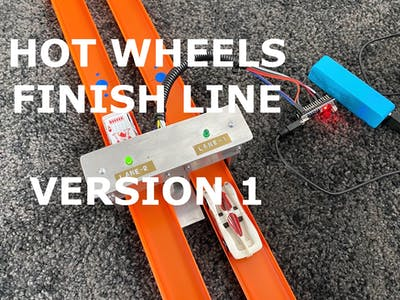 Hot Wheels Finish Line