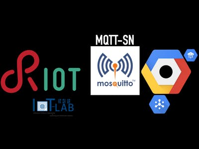 Cloud system based on RIOT, MQTT-SN, and Google IoT - Part 1