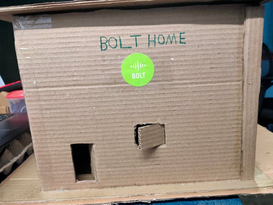 Home Safety Alert System Using Bolt IoT