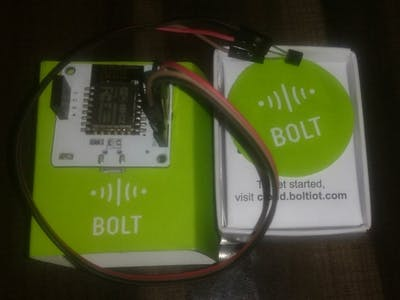 Observing Of Temprature And Its Alert By Utilizing Bolt IoT