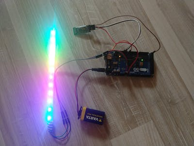 Neopixel with HC-05