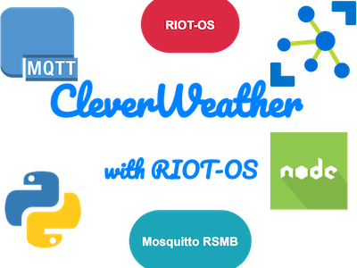 CleverWeather with RIOT-OS