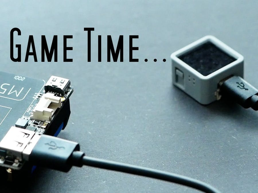 A simple IMU Sensor game that will not let you go.