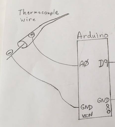 Connect Thermocouple to Arduino