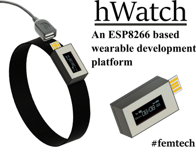 hWatch - A femtech based wearable IoT development platform