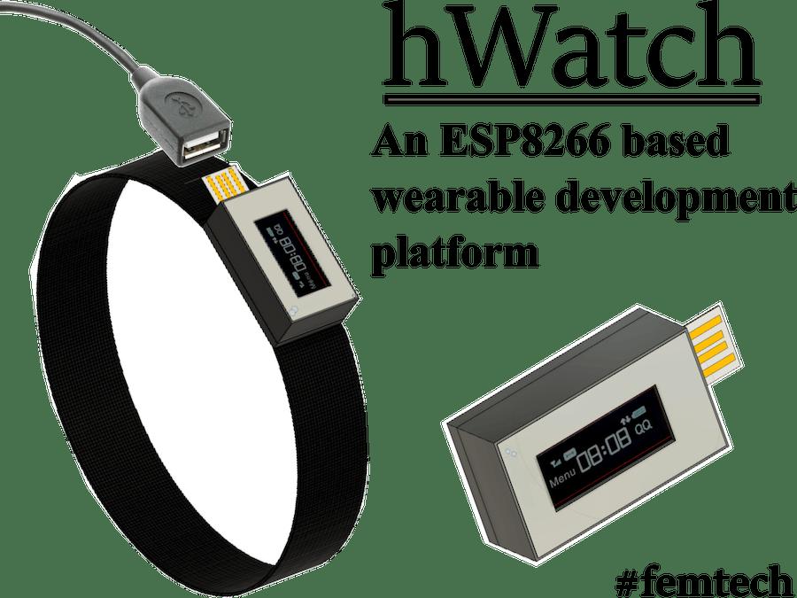 hWatch - A femtech based wearable IoT development platform