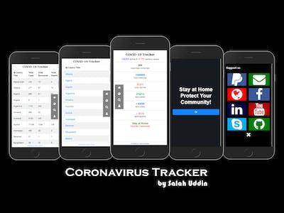 Corona Virus Tracker (Mobile Apps)
