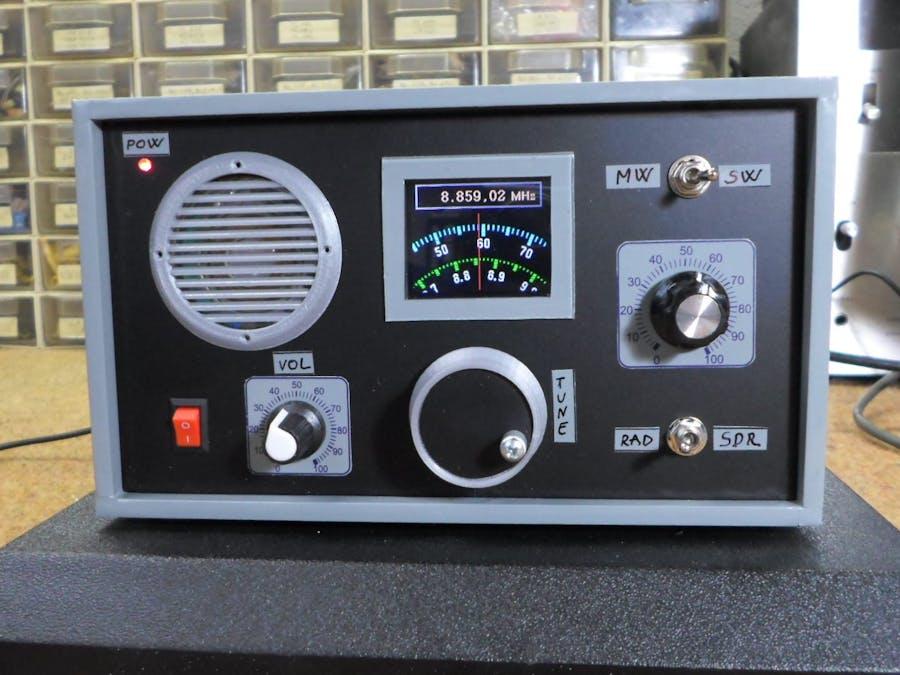 DIY SW, MW, SDR Radio with ESP32 and Si5351