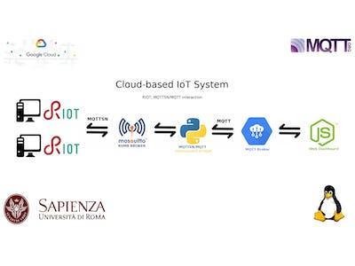 Google Cloud-based IoT System - RIOT, MQTTSN, MQTT