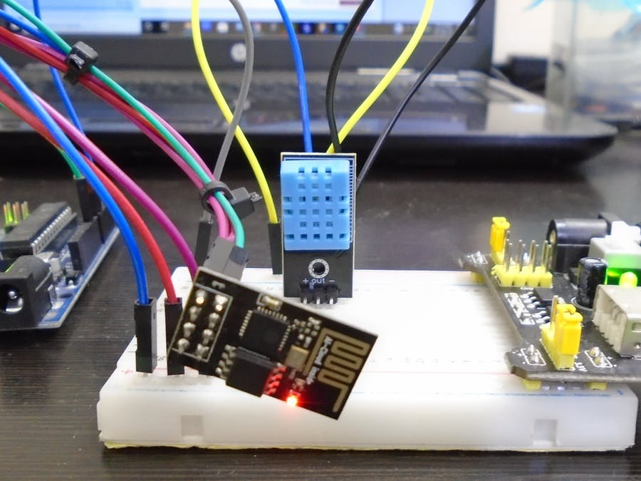 ThingSpeak Arduino Weather Station