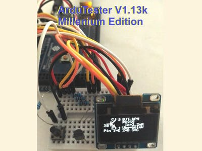 ArduTester Millenium, the ultimate UNO & MEGA Versions
