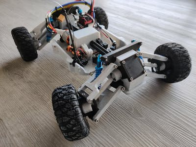 Fully 3D Printed RC car Tarmo4