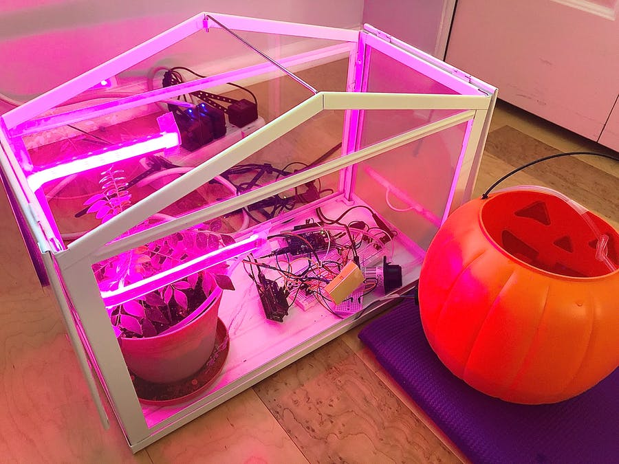Self Sufficient Automated Greenhouse