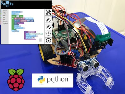 Coding with Raspberry Pi and BluPants