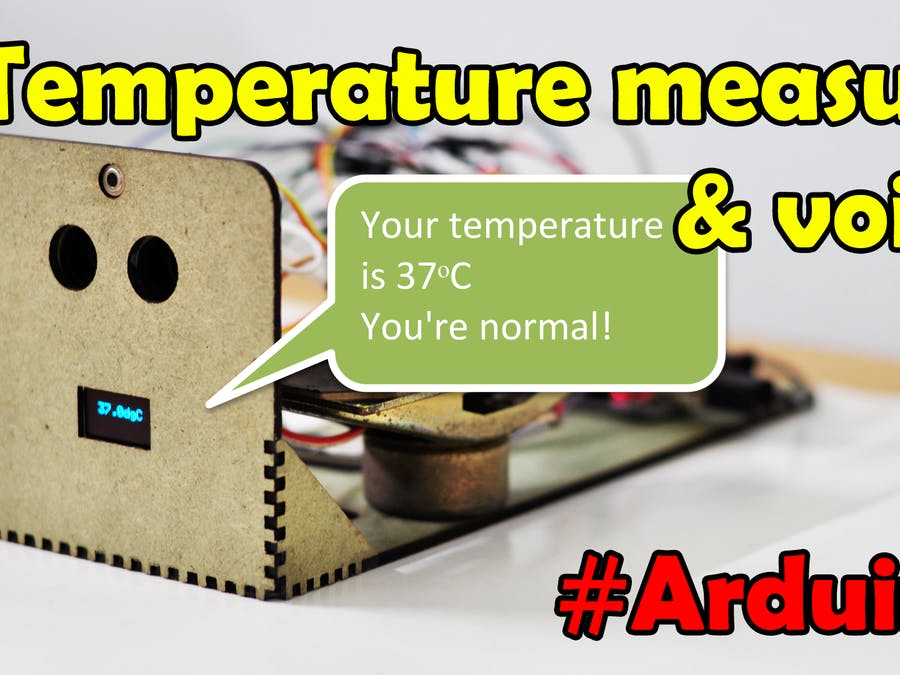 Temperature Measuring Automatic and Voice Inform