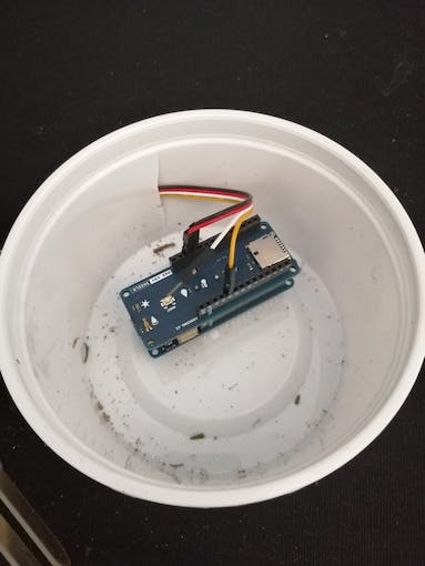 Then plug it to the Arduino
