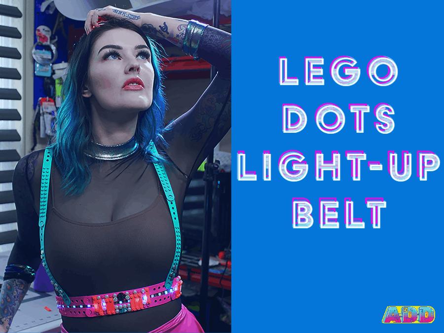 LEGO Dots Cyberpunk Belt