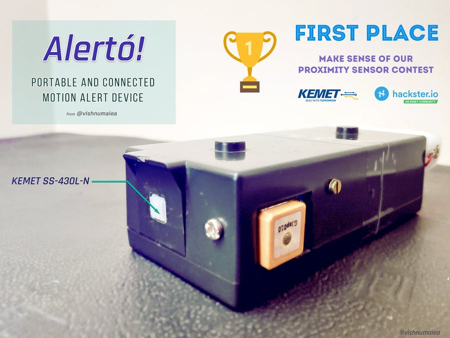 Alerto! : Portable and Connected Motion Alert Device