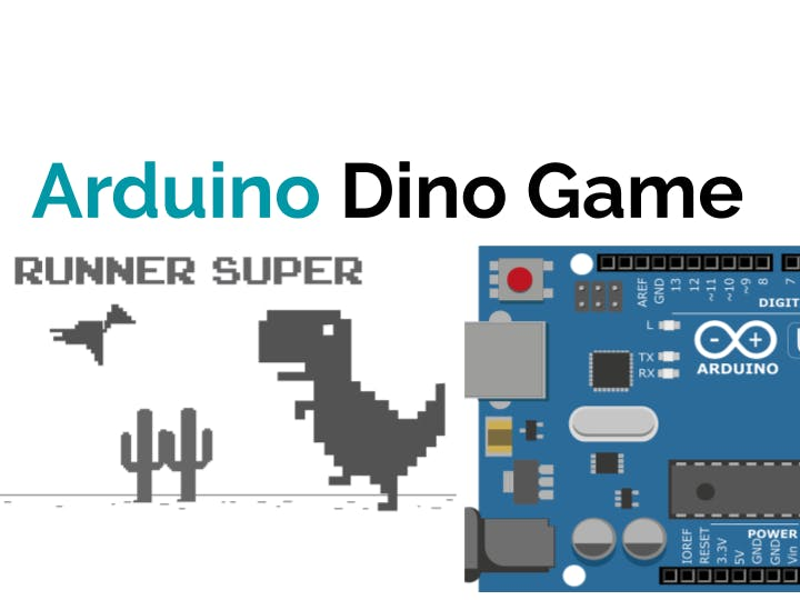 Automated Dino game using arduino
