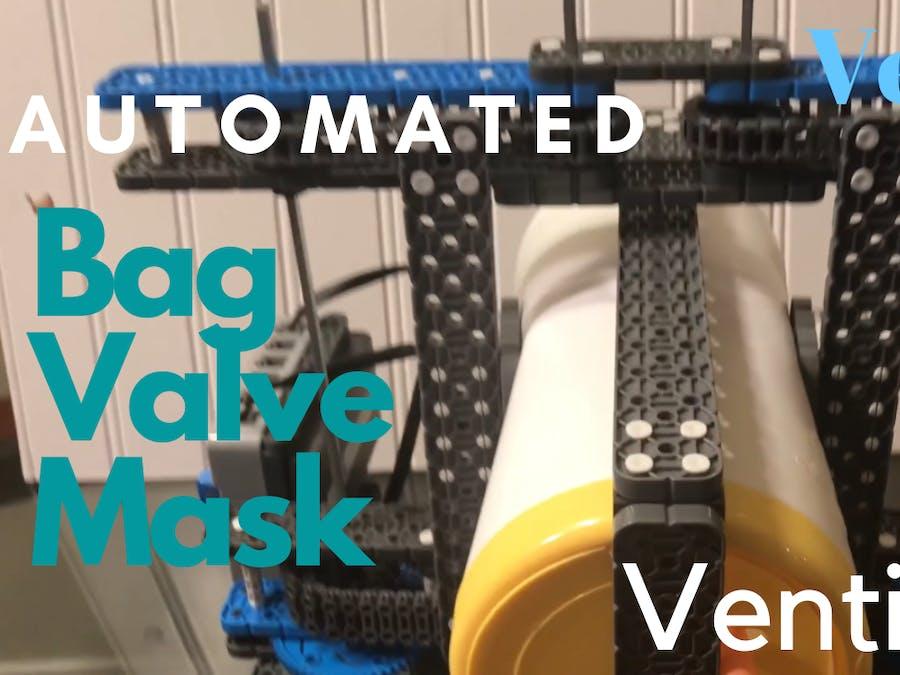 Automated Bag Valve Mask for $250 **VENTILATOR**