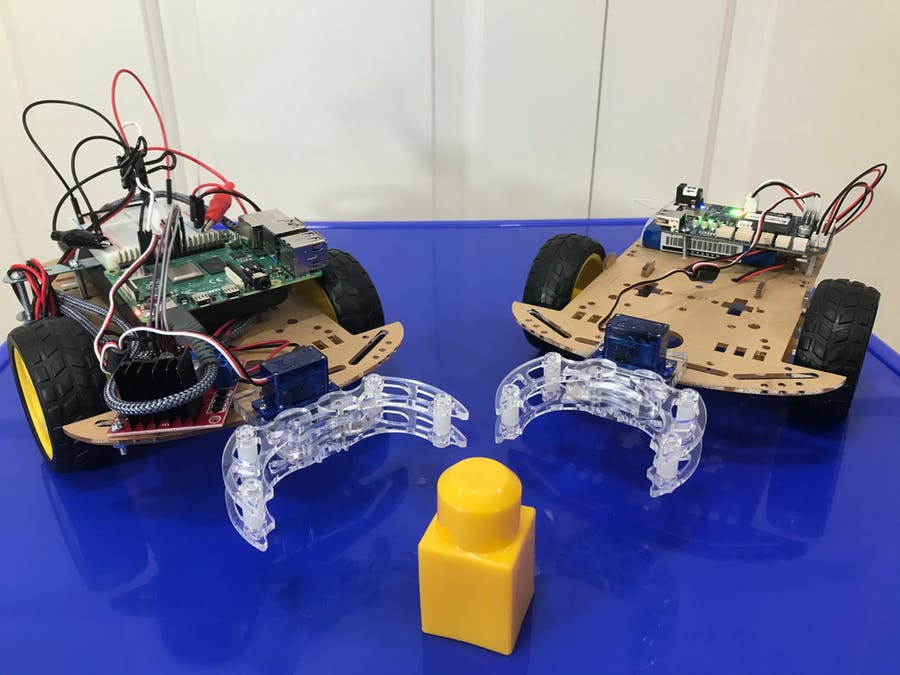BluPants gripper robot