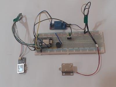 IoT Based Biometric Door Lock using Fingerprint Sensor