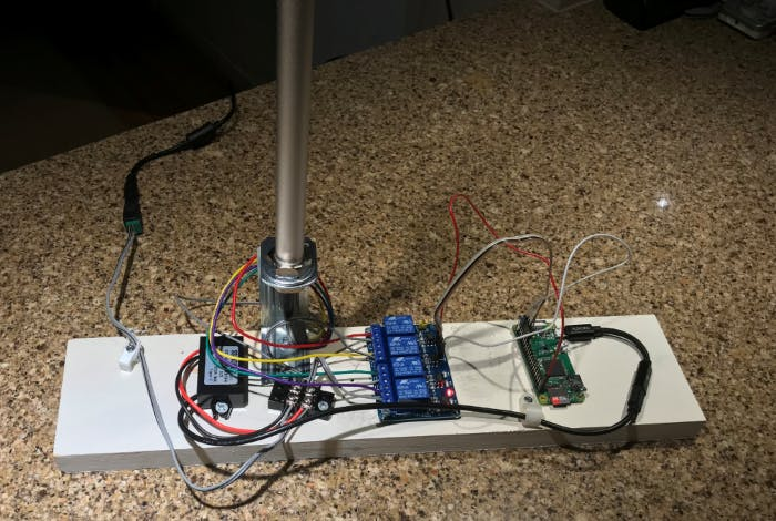 """Build an """"LED Alerter"""" for Your Remote Work Office Setup"""