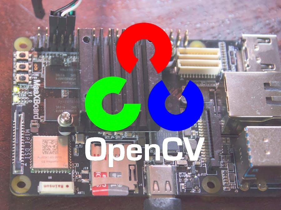 Setting Up OpenCV on the MaaXBoard