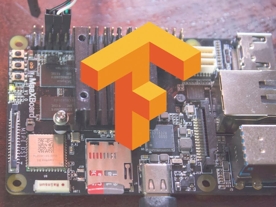 Setting Up TensorFlow on the MaaXBoard