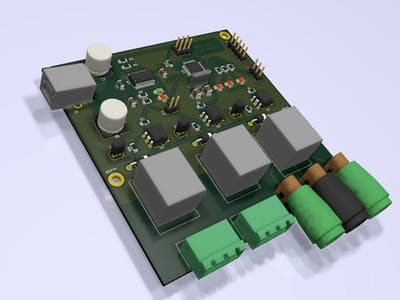 Remote control relay board
