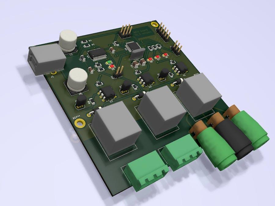 Remote control relay board